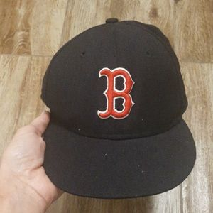 MLB Boston Kids 6.5 Fitted Hat